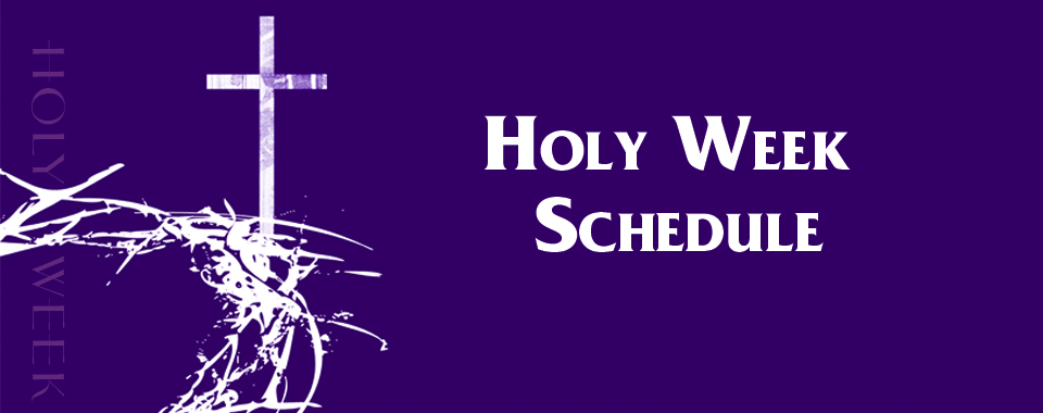 Holy Week | Clarksville Grace Church