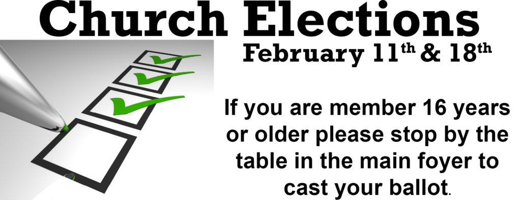 church elections featured